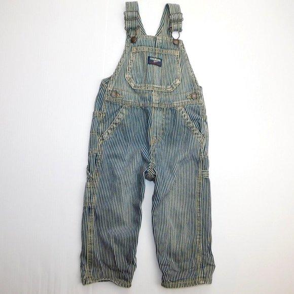 Oshkosh B'gosh Boys 24 months Striped Overalls